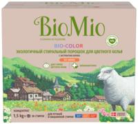 Biomio Bio-Color экологичный стиральный порошок концентрат для цветного белья