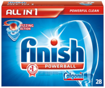 Finish Powerball таблетки для посудомоечных машин