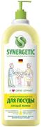 Синергетик Сочный Лимон антибактериальный гель для посуды