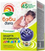 Дэта Бэби 45 Ночей комплект от комаров для детской комнаты