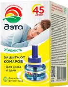 Дэта 45 ночей жидкость от комаров для дома и дачи
