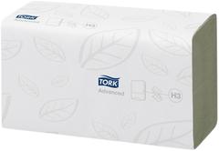 Листовые полотенца ZZ-сложения Tork Advanced Singlefold H3