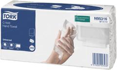 Полотенца бумажные листовые С-сложения Tork Universal Singlefold H3