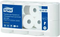 Туалетная бумага мягкая Tork Premium T4