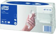Полотенца бумажные листовые С-сложения Tork Advanced Singlefold H3