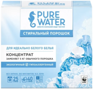 Pure Water стиральный порошок для идеально белого белья концентрат
