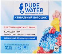 Pure Water стиральный порошок для цветного белья концентрат