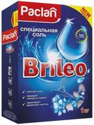 Paclan Brileo специальная соль для посудомоечных машин