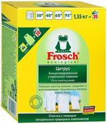 Frosch Цитрус концентрированный стиральный порошок для белого белья
