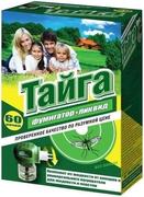 Тайга 60 Ночей комплект от комаров с жидкостью