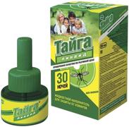 Тайга Ликвид 30 Ночей жидкостной наполнитель для защиты от комаров