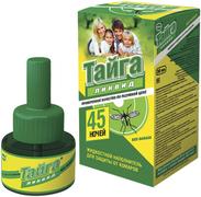 Тайга Ликвид 45 Ночей жидкостной наполнитель для защиты от комаров