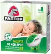 Раптор 30 Ночей жидкость от комаров