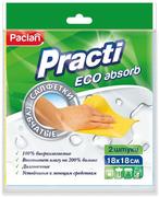 Салфетки губчатые Paclan Practi Eco Absorb