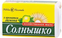 Солнышко с Ароматом Лимона мыло хозяйственное