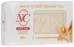 Невская Косметика 72% с Глицерином мыло хозяйственное