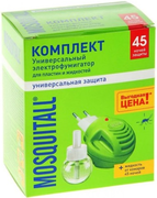 Москитол Универсальная Защита 45 Ночей комплект от комаров