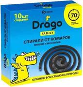 Grass Drago Family спирали от комаров, мошек и москитов