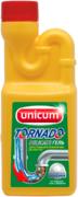 Unicum Tornado Delicate гель для устранения и профилактики засоров в трубах