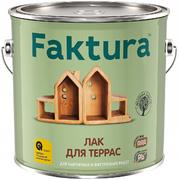 Faktura лак для террас