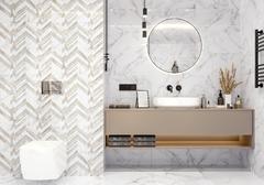 Golden Tile Marmo Bianco