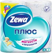 Туалетная бумага Zewa Плюс Белая
