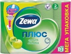 Туалетная бумага Zewa Плюс Яблоко