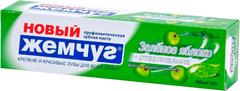 Новый Жемчуг Зеленое Яблоко+Отбеливание зубная паста