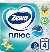 Туалетная бумага Zewa Плюс Океан