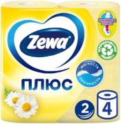 Туалетная бумага Zewa Плюс Ромашка