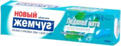 Новый Жемчуг Ледяная Мята+Отбеливание зубная паста