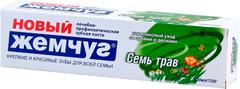Новый Жемчуг Семь Трав зубная паста