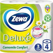 Туалетная бумага Zewa Deluxe Camomile Comfort