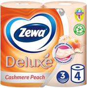 Туалетная бумага Zewa Deluxe Cashmere Peach