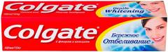 Колгейт Бережное Отбеливание зубная паста с фторидом и кальцием