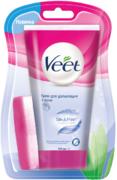 Veet Silk & Fresh с Алоэ Вера и Витамином Е крем для депиляции в душе для чувствительной кожи