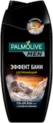 Палмолив Men Эффект Бани согревающий гель для душа 2 в 1 для тела и волос