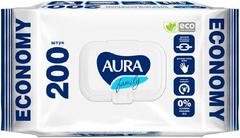 Aura Family Economy салфетки влажные