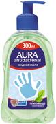 Aura Antibacterial Подорожник мыло жидкое увлажняющее