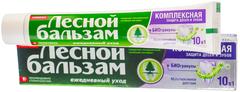 Лесной Бальзам Комплексная Защита зубная паста 10 в 1 с биогранулами