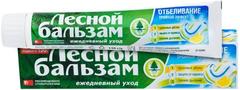 Лесной Бальзам Тройной Эффект Отбеливание зубная паста