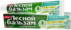 Лесной Бальзам Тройной Эффект Мята и Смородина зубная паста