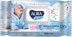 Aura Ultra Comfort салфетки влажные для детей 0+