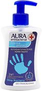 Aura Antibacterial Derma Protect крем-мыло антибактериальное 2 в 1