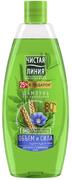 Чистая Линия Объем и Сила Лен и Пшеница шампунь для тонких и ослабленных волос