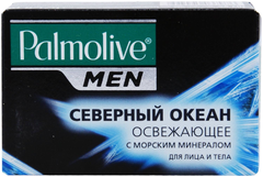 Палмолив Men Северный Океан мыло туалетное освежающее для лица и тела