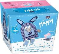 Bella Baby Happy платочки бумажные универсальные