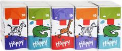 Bella Baby Happy Звери платочки детские бумажные универсальные