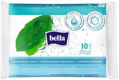 Bella с Ароматом Зеленого Чая салфетки влажные освежающие