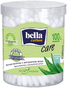 Bella Cotton Care с Экстрактом Алоэ ватные палочки